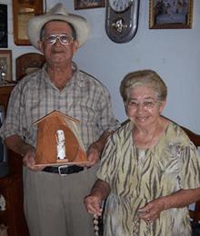 Julio Negrón Rivera y su esposa Doña Mercedes de Morovis